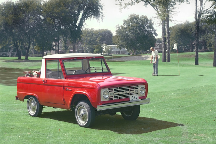 1966 Ford Bronco Golf Course