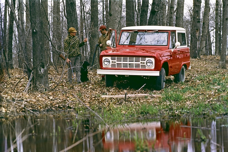 1966 Ford Bronco Hunting And Fishing