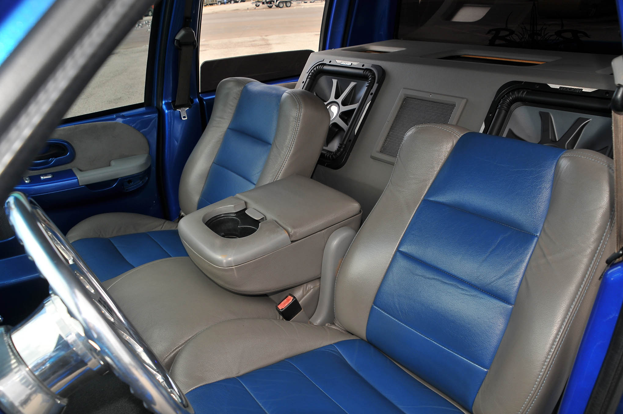 Outstanding 2001 Ford F 150 Supercrew Blue Demon Caraccident5 Cool Chair Designs And Ideas Caraccident5Info