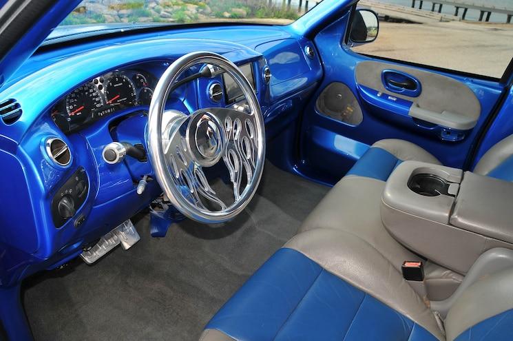 2001 Ford F 150 Supercrew Blue Demon
