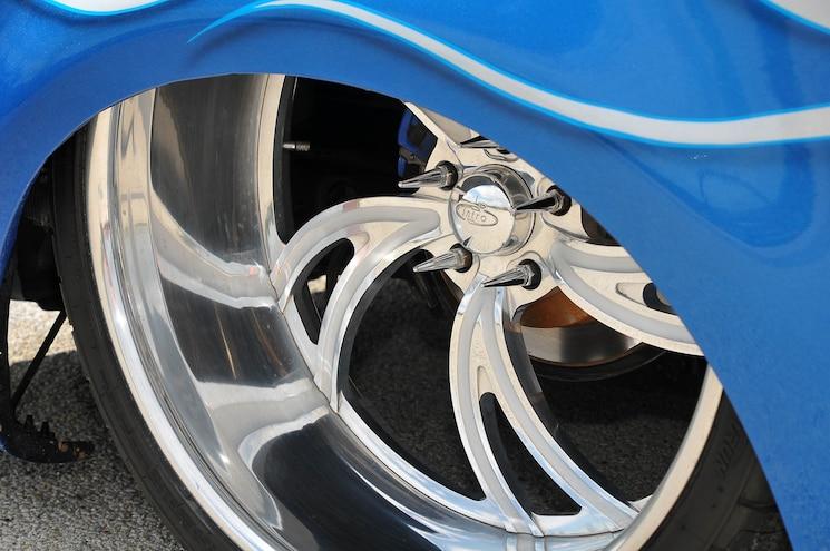 2001 Ford F 150 Supercrew Blue Demon Wheel