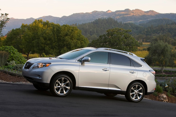2010 Lexus Rx Profile Outdoors