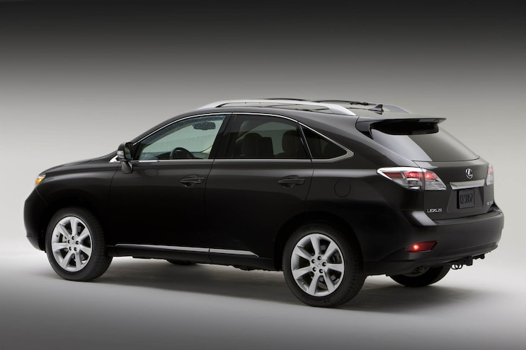 2010 Lexus Rx R3q Studio Rear