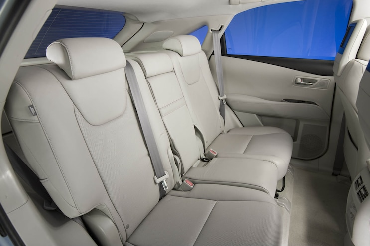 2010 Lexus Rx Rear Seats