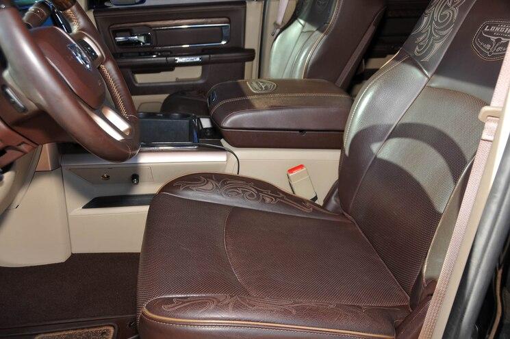 2013 Dodge Ram Project Envy Interior Seat