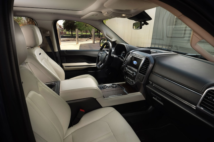 2020 Ford Expedition Max Platinum Interior Front Cabin
