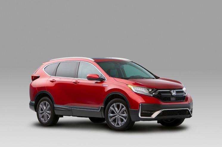 2020 Honda Cr V Hybrid Exterior Front Quarter 03