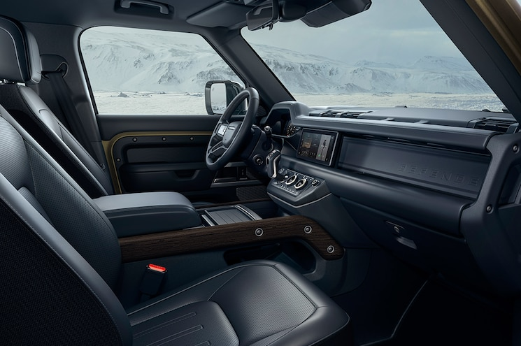 2020 Land Rover Defender 110 Interior Front Cabin