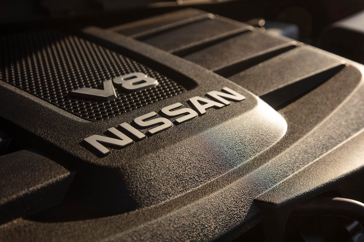 2020 Nissan Titan Platinum Reserve Engine