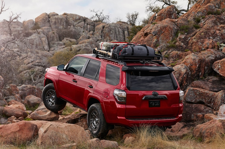 2020 Toyota 4runner Venture Edition Exterior Rear Quarter 01