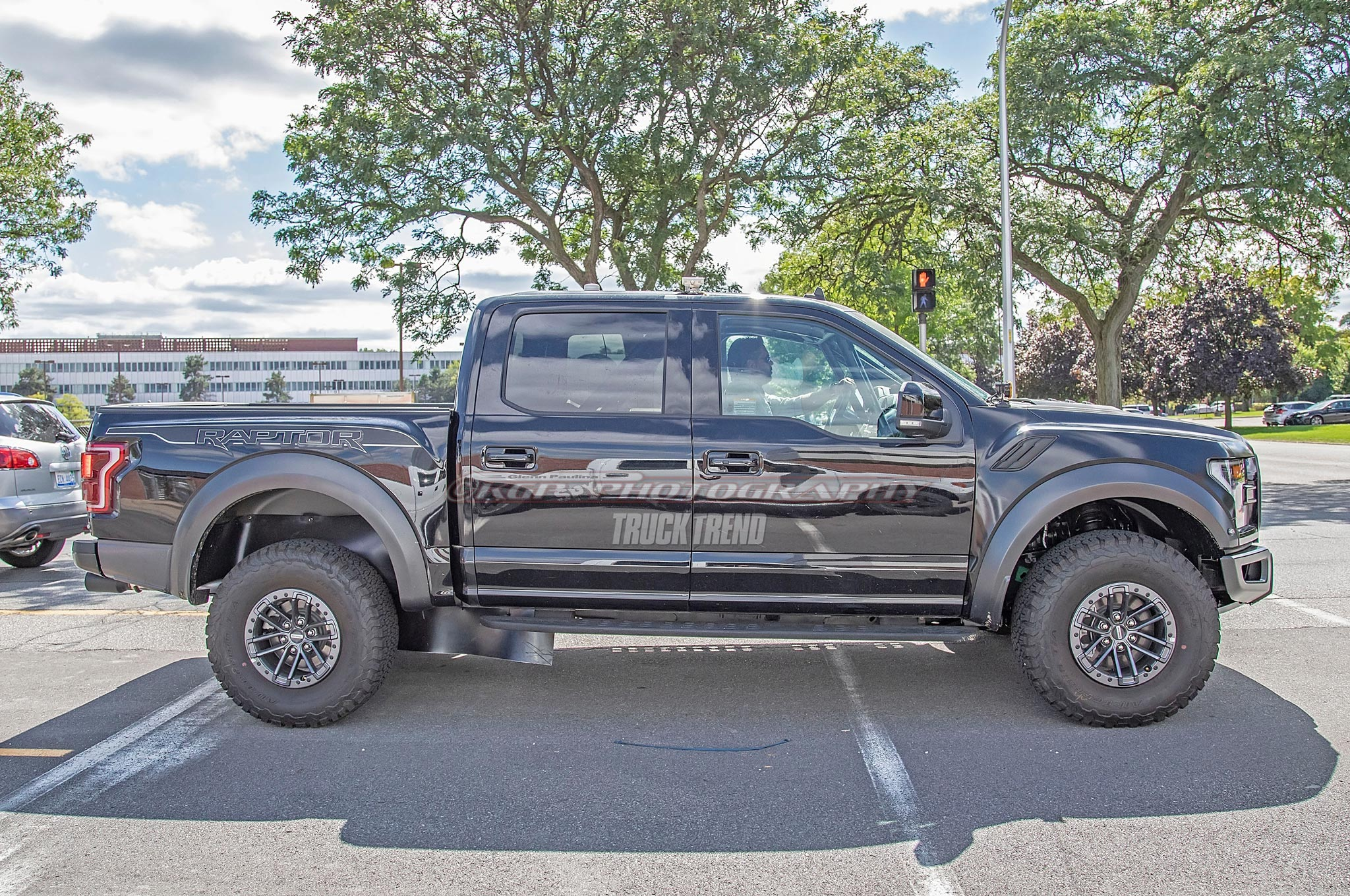 SPIED: 2021 Ford F-150 Raptor With Camouflaged Suspension Bits