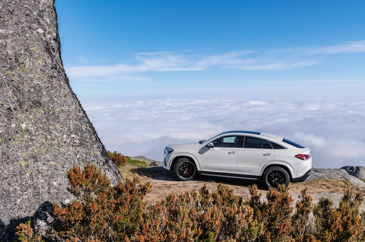 2021 Mercedes Amg Gle 53 Coupe Exterior Rear Quarter 01