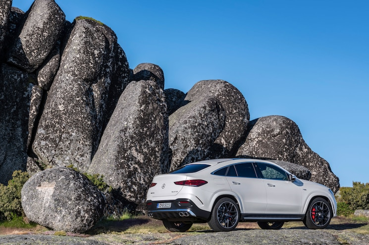 2021 Mercedes Amg Gle 53 Coupe Exterior Rear Quarter 02
