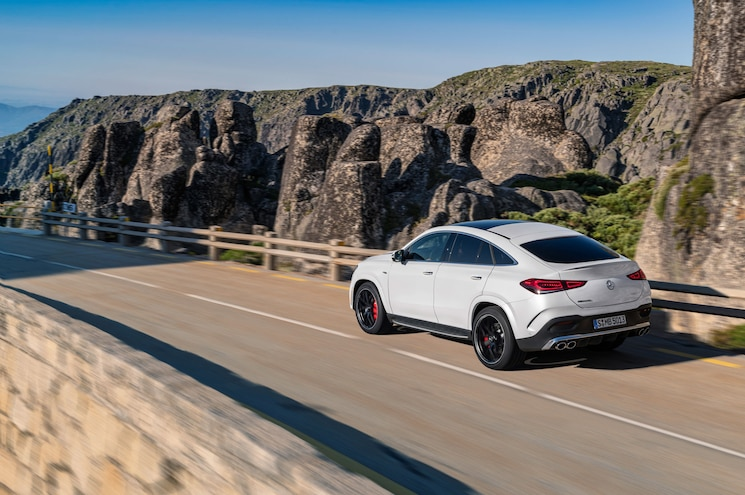 2021 Mercedes Amg Gle 53 Coupe Exterior Rear Quarter 03