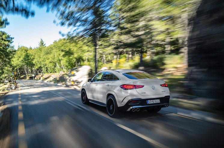 2021 Mercedes Amg Gle 53 Coupe Exterior Rear Quarter 04