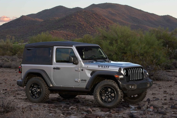 Jeep Offers Two Special Edition 2020 JL Wrangler Models