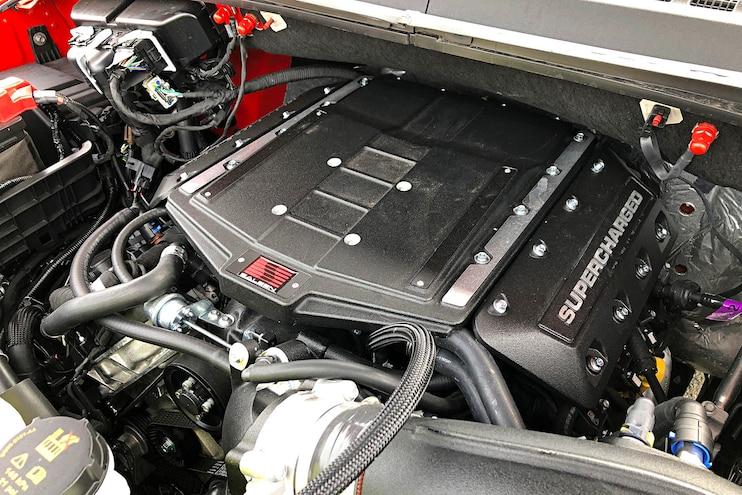 First Drive 2019 Saleen Sporttruck Engine