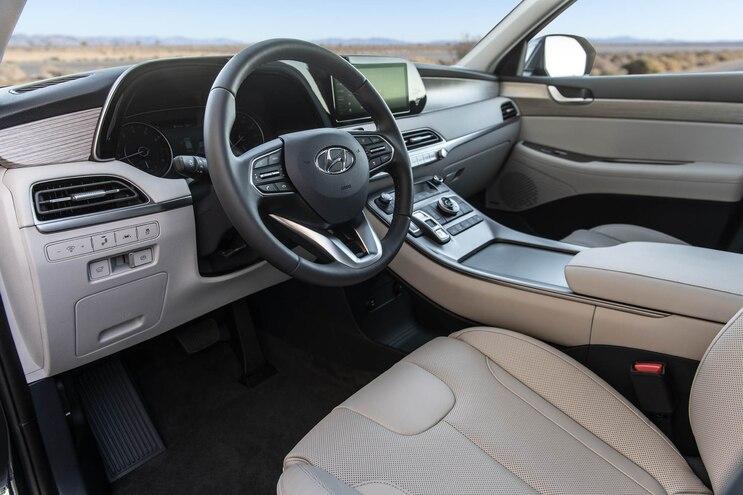 First Drive 2020 Hyundai Palisade Interior