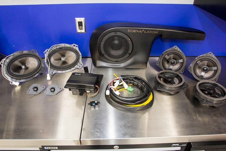 OEM Audio Plus Toyota 4Runner TRD Pro Audio System Upgrade