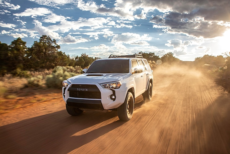 Off Road 2020 Toyota 4Runner TRD Pro Drive