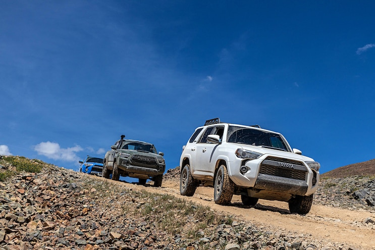 Off Road 2020 Toyota Tacoma And 4Runner TRD Pro 009