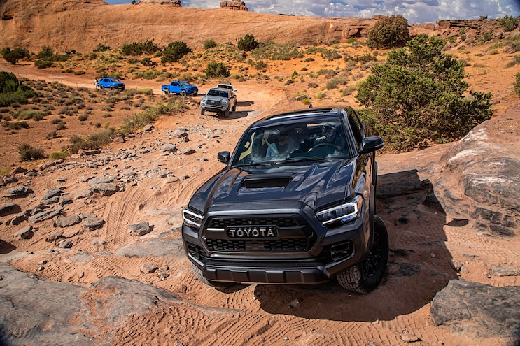 Off-Road with the 2020 Toyota Tacoma and 4Runner TRD Pro