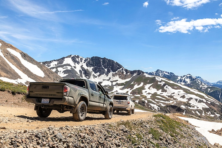 Off Road 2020 Toyota Tacoma And 4Runner TRD Pro