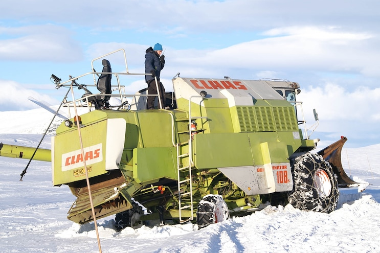 Watch Top Gear's Snowbine Harvester, and more, on the MotorTrend App