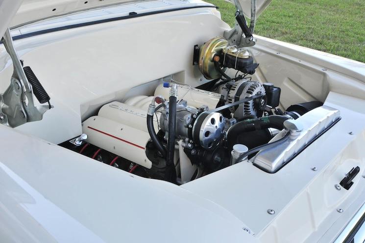 Trophy Winning Tow Vehicle Engine