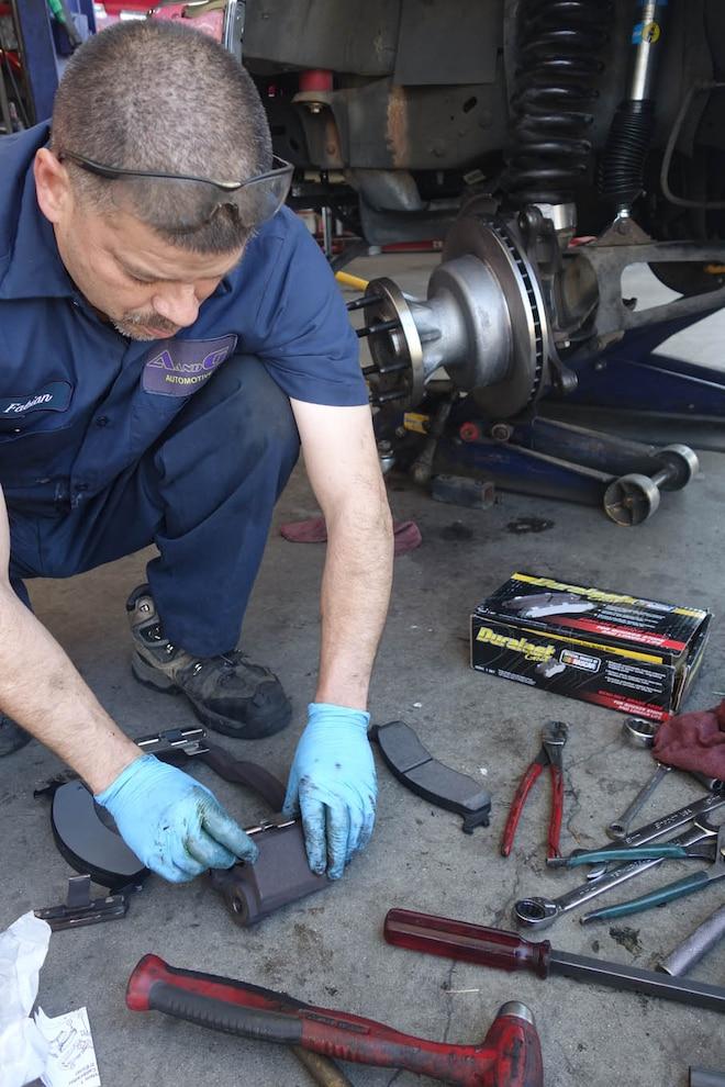 013 Stand Tall Replacing Brake Pads