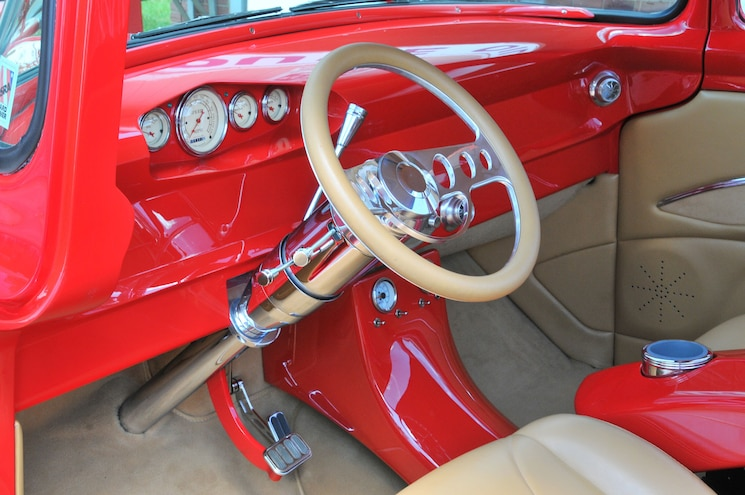 1956 Ford F100 Long Term Ownership Interior