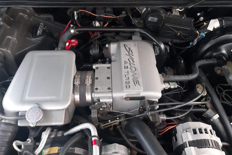 1992 GMC Typhoon Bill Bixby Barrett Jackson 2019 Engine