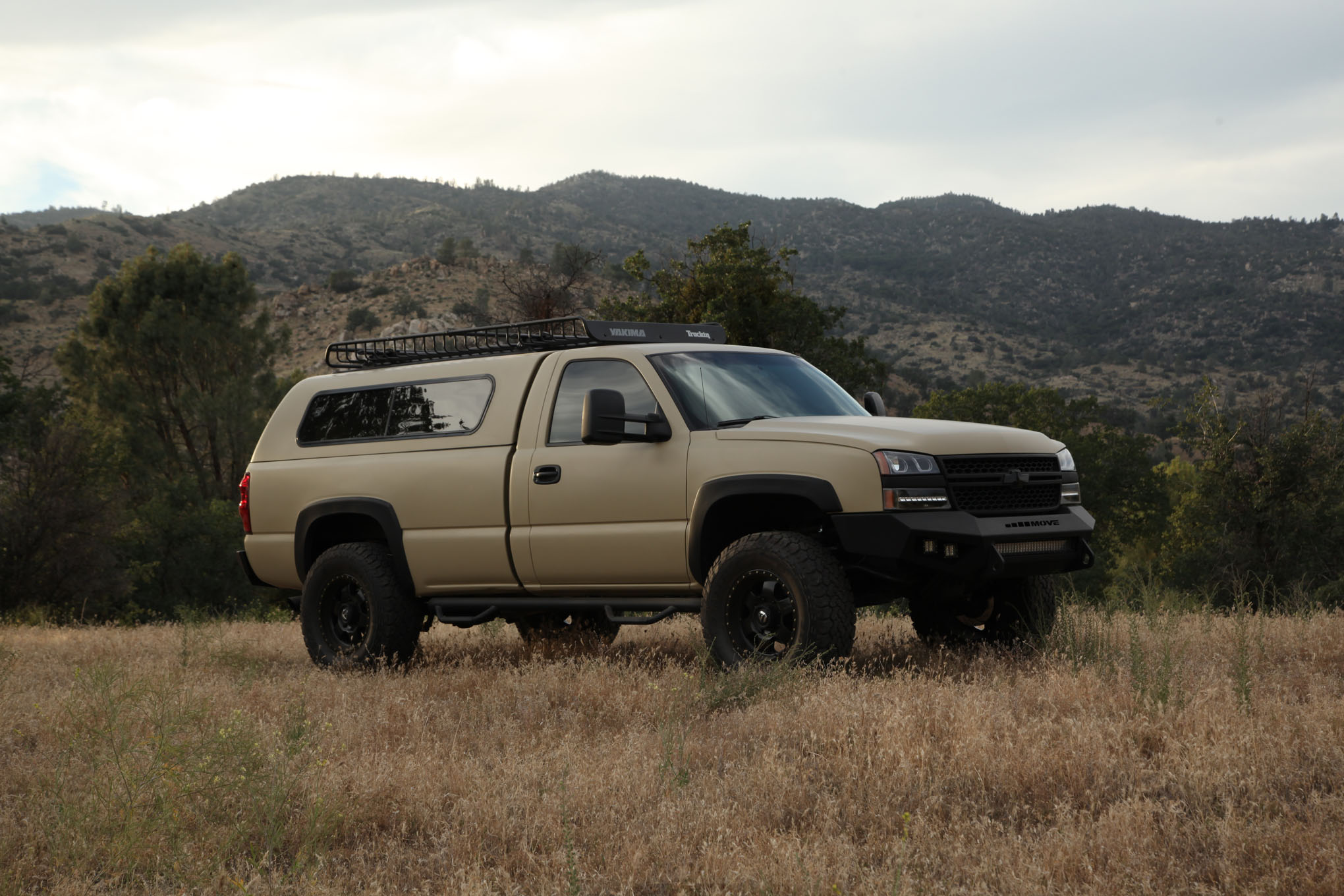 2003 Chevy Silverado Overland Build Final Feature Finished Build