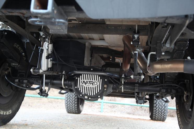 2003 Chevy Silverado Project Over Under Nitro