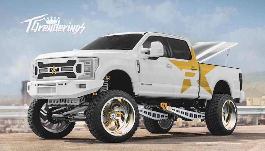 2019 Sema Show Truck Guru Custom Renderings 27