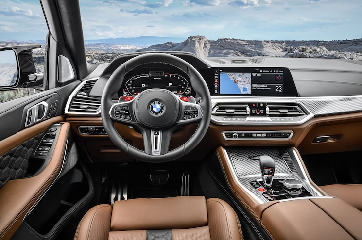 2020 Bmw X5 M Competition Interior Cockpit