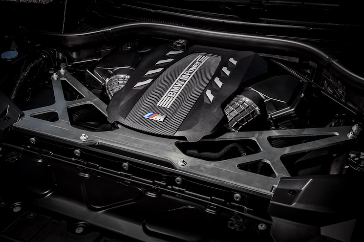 2020 Bmw X6 M Competition Exterior Engine Bay