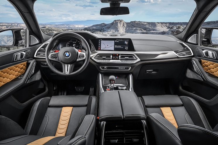 2020 Bmw X6 M Competition Interior Dashboard