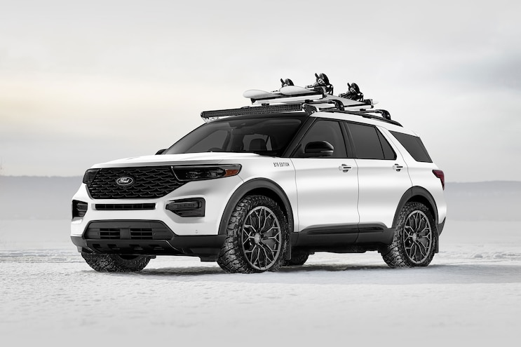 Ford is Bringing Custom Escape, Explorer and Expedition SUV Concepts to 2019 SEMA Show