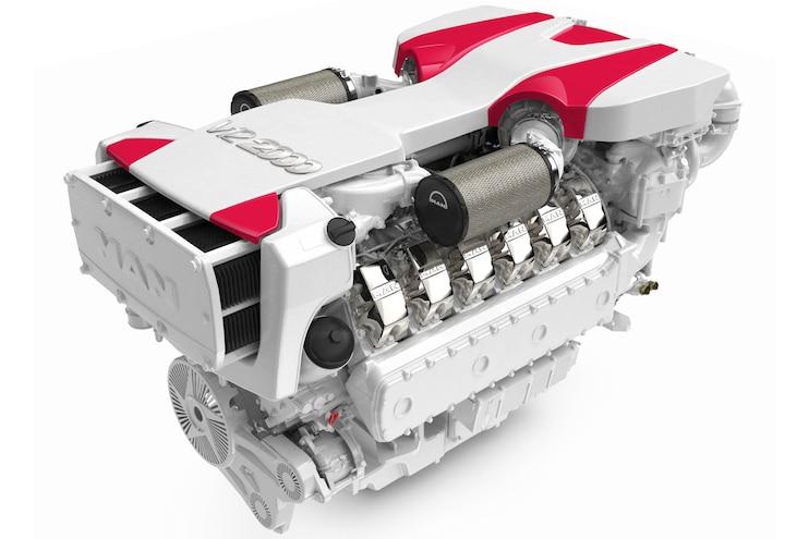 MAN V-12 2000: Twelve Cylinders of Maximum Power for Luxury Yachts