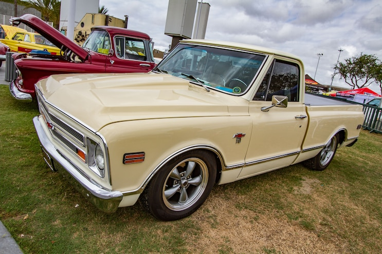 Cruisin For A Cure Chevy C10