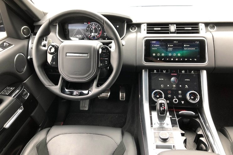 Daily Driven 2019 Range Rover Sport Svr Interior