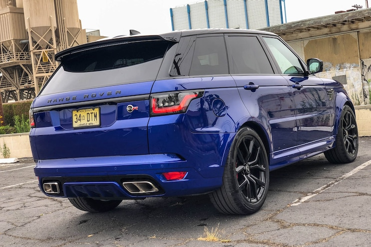 Daily Driven 2019 Range Rover Sport Svr Rear 3q