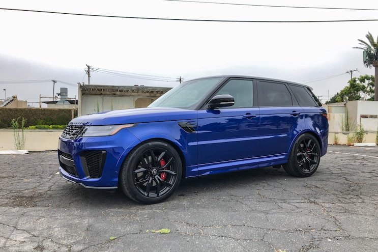 Daily Driven 2019 Range Rover Sport Svr