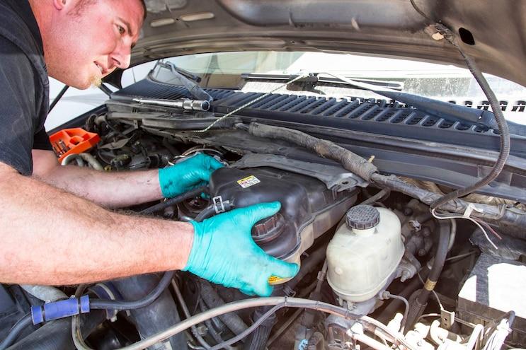 Ford 6 0l Power Stroke Garrett Powermax Turbo Install 005
