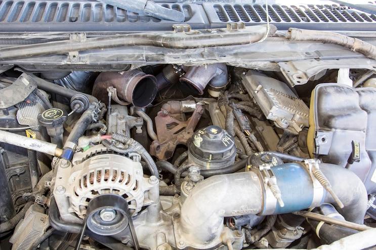 Ford 6 0l Power Stroke Garrett Powermax Turbo Install 008