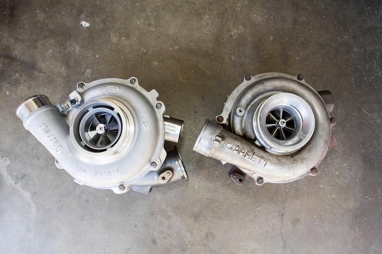Ford 6 0l Power Stroke Garrett Powermax Turbo Install 009