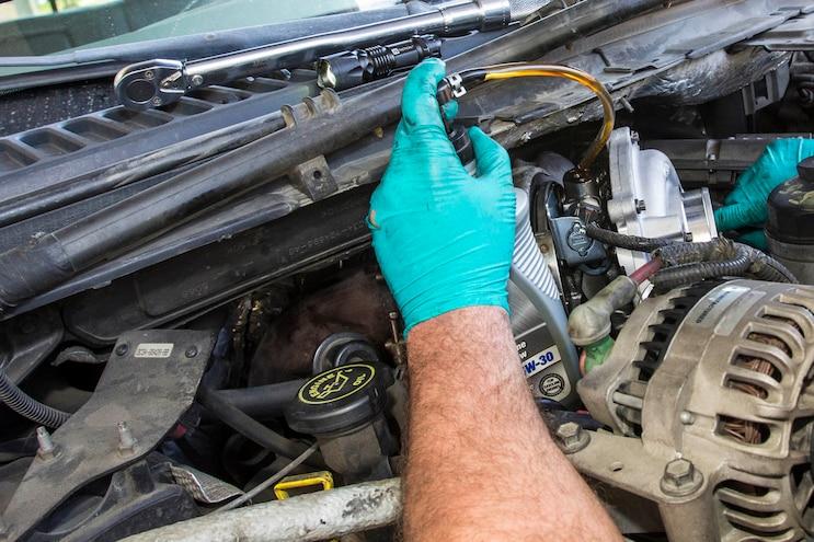 Ford 6 0l Power Stroke Garrett Powermax Turbo Install 017
