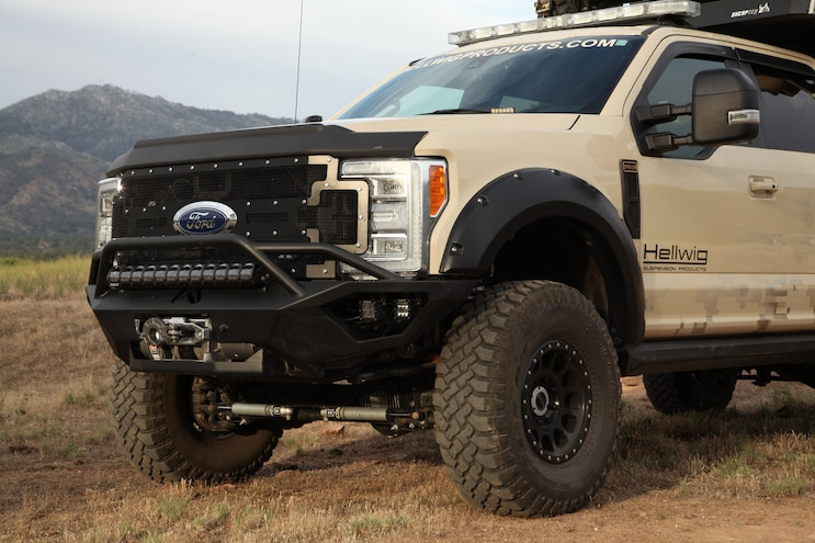 Hellwigs Ford F 350 Front