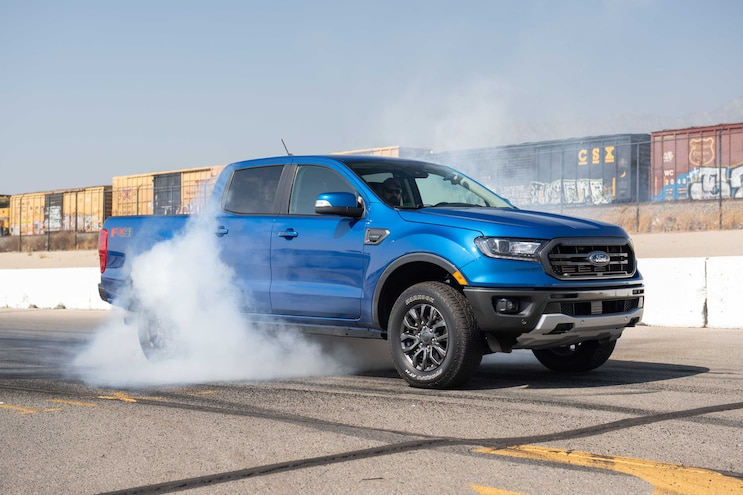 Ttptoty Daily Recap Day 1 Ford Ranger Burnout